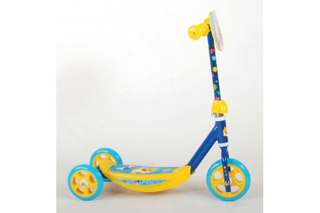 Baby Shark scooter - Children - Blue Yellow