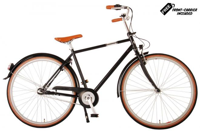 Volare Lifestyle Men's Bicycle - Man - 48 centimeters - Satin Black - Shimano Nexus 3 gears