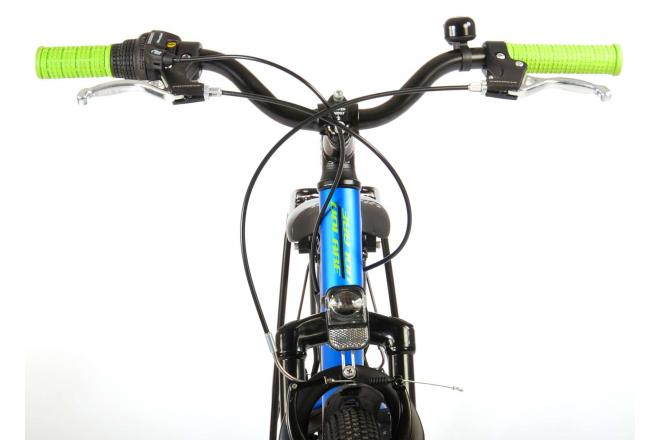 Volare Cross Children's Bicycle - Boys - 24 inch - Blue Green - 6 gears - Prime Collection