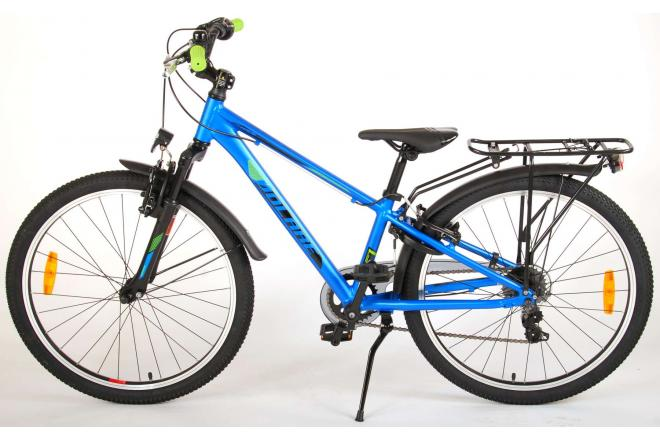 Volare Cross Children's Bicycle - Boys - 24 inch - Dark Blue - 6 gears - Prime Collection