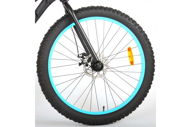 Volare Gradient Children's Bicycle – Boys – 26 inch – Black Blue – 7 speed – Prime Collection
