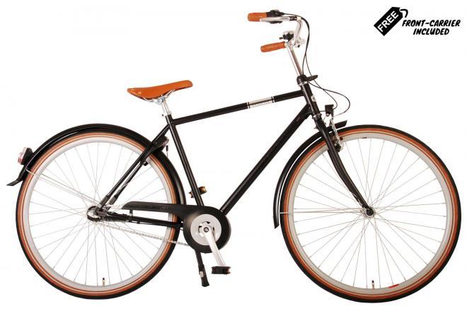 Volare Lifestyle Men's Bicycle - Man - 56 centimeters - Satin Black - Shimano Nexus 3 gears