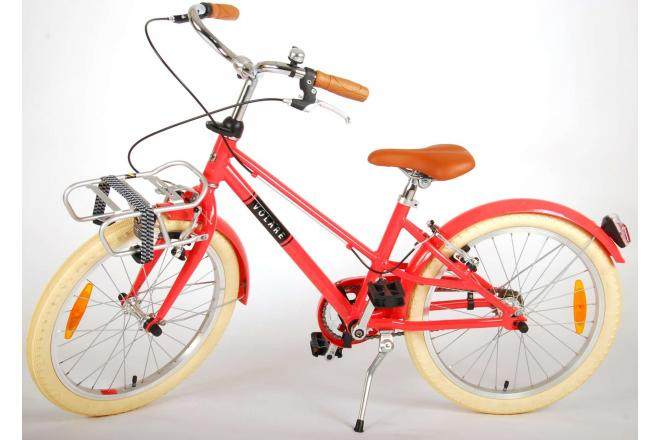 Volare Melody Children's bicycle - Girls - 20 inch - pastel red - two handbrakes - Prime Collection