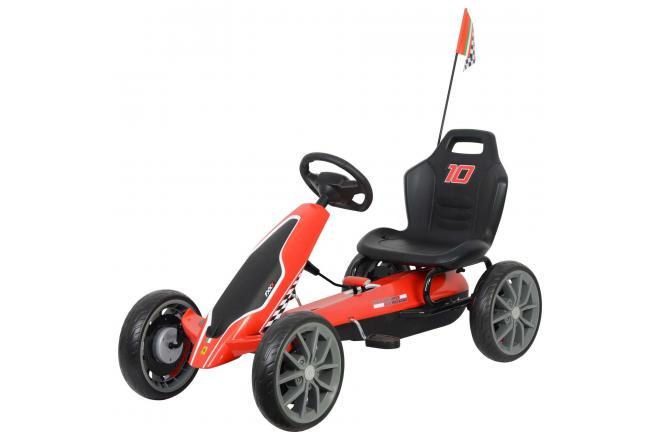 Scuderia Ferrari Go Kart - Large - Red