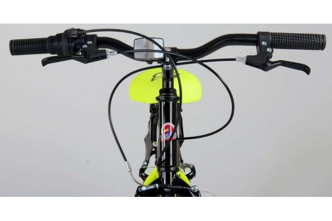 Volare Sportivo Children's Bicycle - Boys - 20 inch - Neon Yellow Black - 6 gears