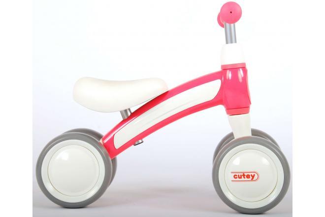 QPlay Cutey Ride On Walking Bike - Boys and Girls - Pink