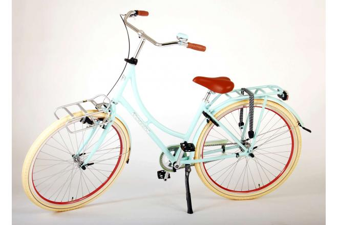 Volare Classic Oma Women's bicycle - 28 inch - 48 centimeters - Pastel Blue