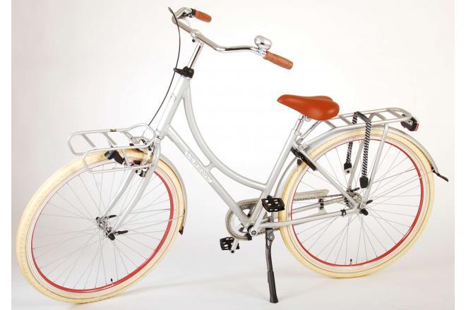 Volare Classic Oma Women's bicycle - 28 inch - 45 centimeters - Matt Silver