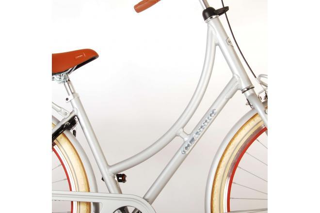 Volare Classic Oma Women's bicycle - 28 inch - 51 centimeters - Matt Silver