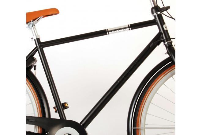 Volare Lifestyle Men's Bicycle - Man - 28 inch - 56 centimeters - Satin Black - Shimano Nexus 3 gears