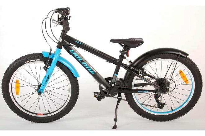 Volare Rocky children's bike - 20 inch - Black Blue - 95% completed - Prime Collection