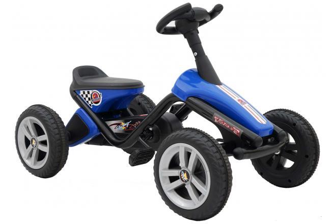 Volare Mini Go Kart - Boys and Girls - Blue