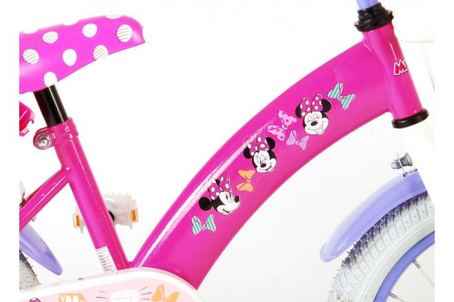 Disney Minnie Cutest Ever! Children's Bicycle - Girls - 16 inch - Pink