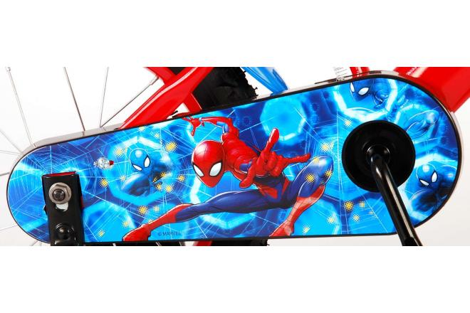 Ultimate Spider-Man Children's Bicycle - Boys - 14 inch - Red Blue