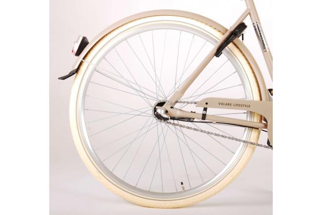 Volare Lifestyle Women's bicycle - Women - 51 centimetres - Sand - Shimano Nexus 3 gears