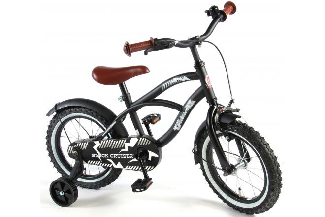 Volare Black Cruiser 14 inch boys bicycle