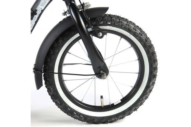 Volare Black Cruiser 14 inch boys bicycle